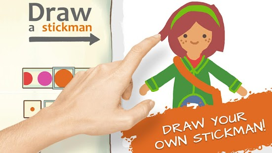 Draw a Stickman: EPIC 2 Free- screenshot thumbnail
