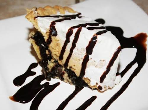 "Fudge Brownie Peanut Butter Pie ""Oh my goodness this is so yummy!..."