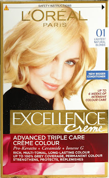 L'Oreal Excellence Creme - 01 Lightest Natural Blonde