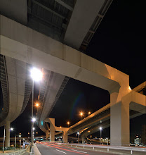 Photo: Shinonome Junction (東雲JCT) is very famous place for our team! :) #elevatedexpressways