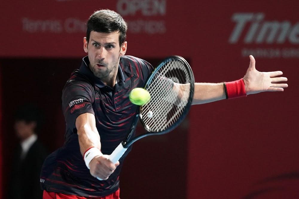 Djokovic vorder na die Japan Ope kwarteindronde