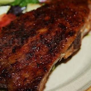 Southern Style Dry Rub Pork Ribs.