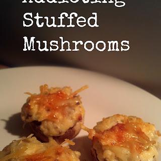 Addicting Stuffed Mushrooms.