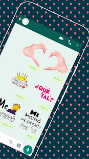 Stickers de Amor y Piropos para WhatsApp Screenshot