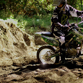 by Bobby Dozan - Sports & Fitness Motorsports ( klx, fox, motocross, klx150, metalmulisha, trail, motorcycle, hobbies, dirt bike, thor, kawasaki )