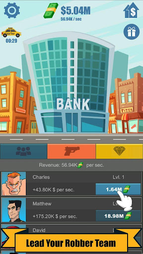Bank Robber Clicker - Idle Tycoon 1.3.4 screenshots 3