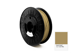 FiberForce Pantone (R) 16-1126 TPG PLA Filament - 1.75mm (0.75kg)