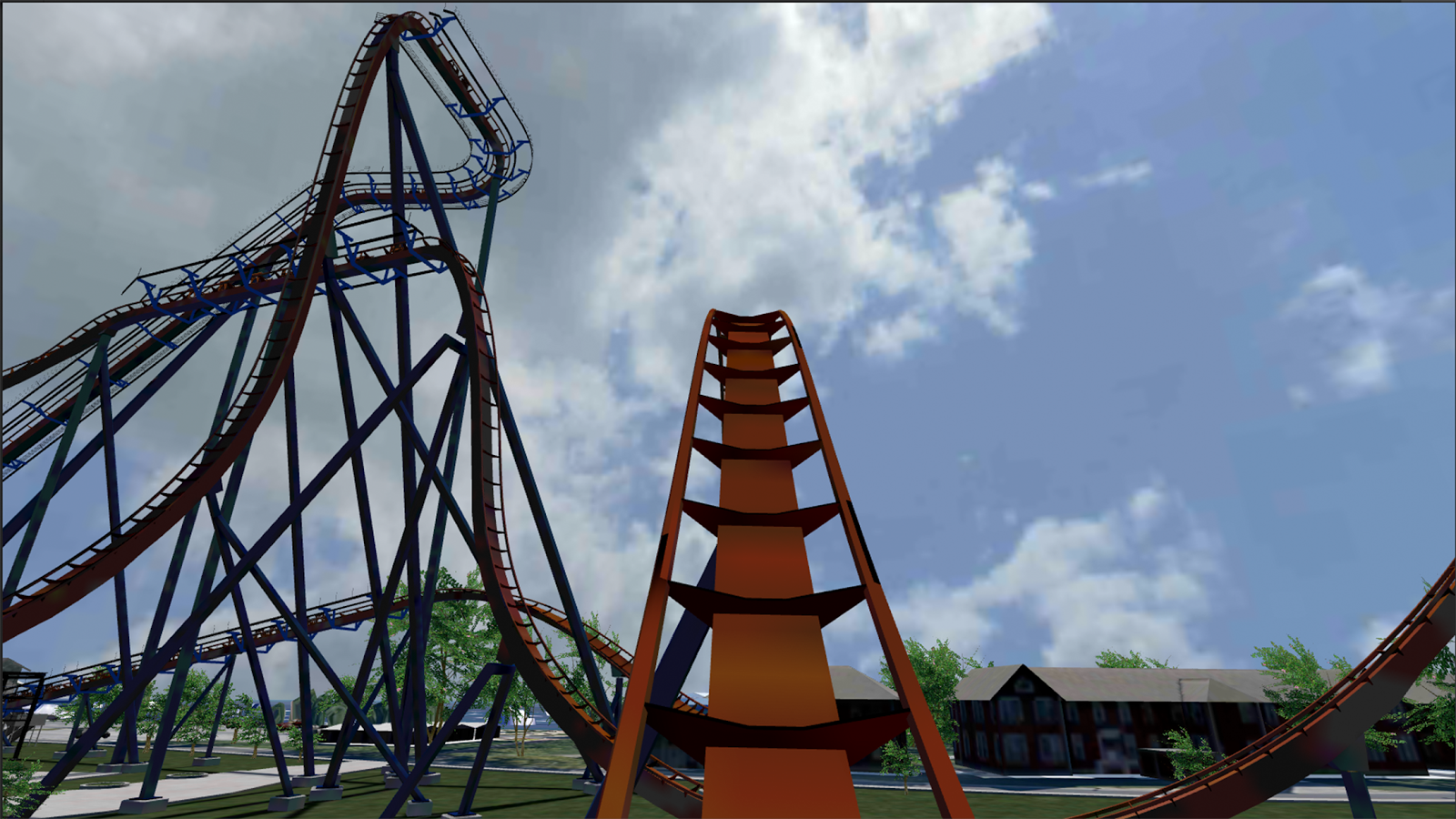 Cedar Point VR- screenshot