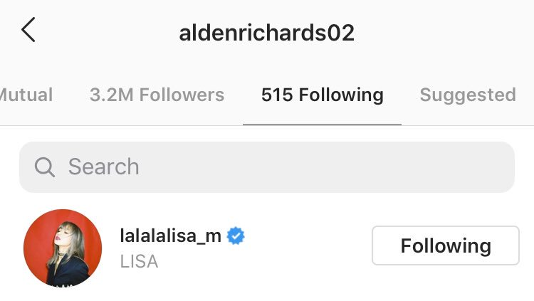 alden following lisa