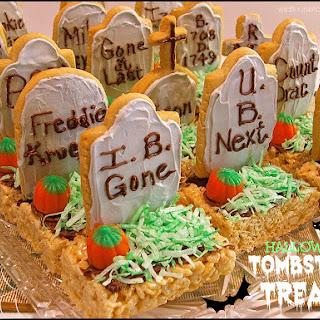 Halloween Tombstone Treats!
