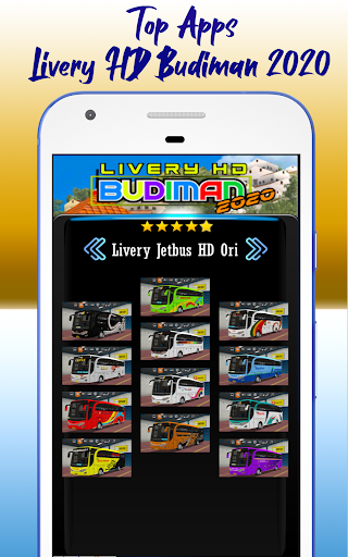 Livery HD Budiman 2020 1.0 screenshots 5