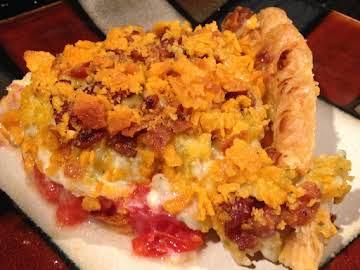 Cheesy Bacon Ranch Tomato Pie