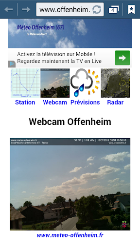Météo Offenheim 67