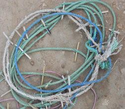 Photo: Rope marker used in the Madhya Pradesh region of India.