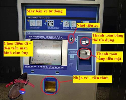 máy bán vé tàu điện ngầm