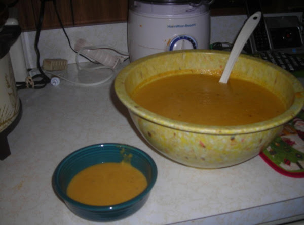 Spiced Butternut Squash Soup Recipe