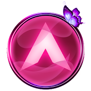 App Arc Launcher Pink Butterfly Theme + Icon Pack APK for Kindle