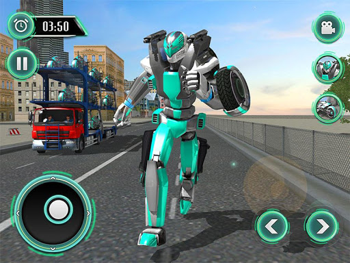模擬必備免費app推薦|ロボットバイク輸送トラックシム線上免付費app下載|3C達人阿輝的APP