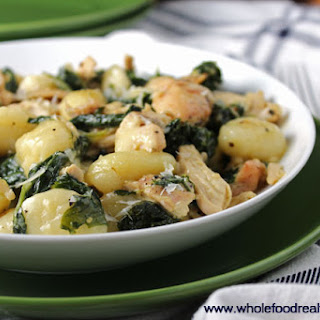 Creamy Chicken and Kale Gnocchi