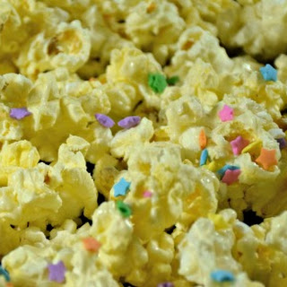 White Chocolate Buttered Popcorn