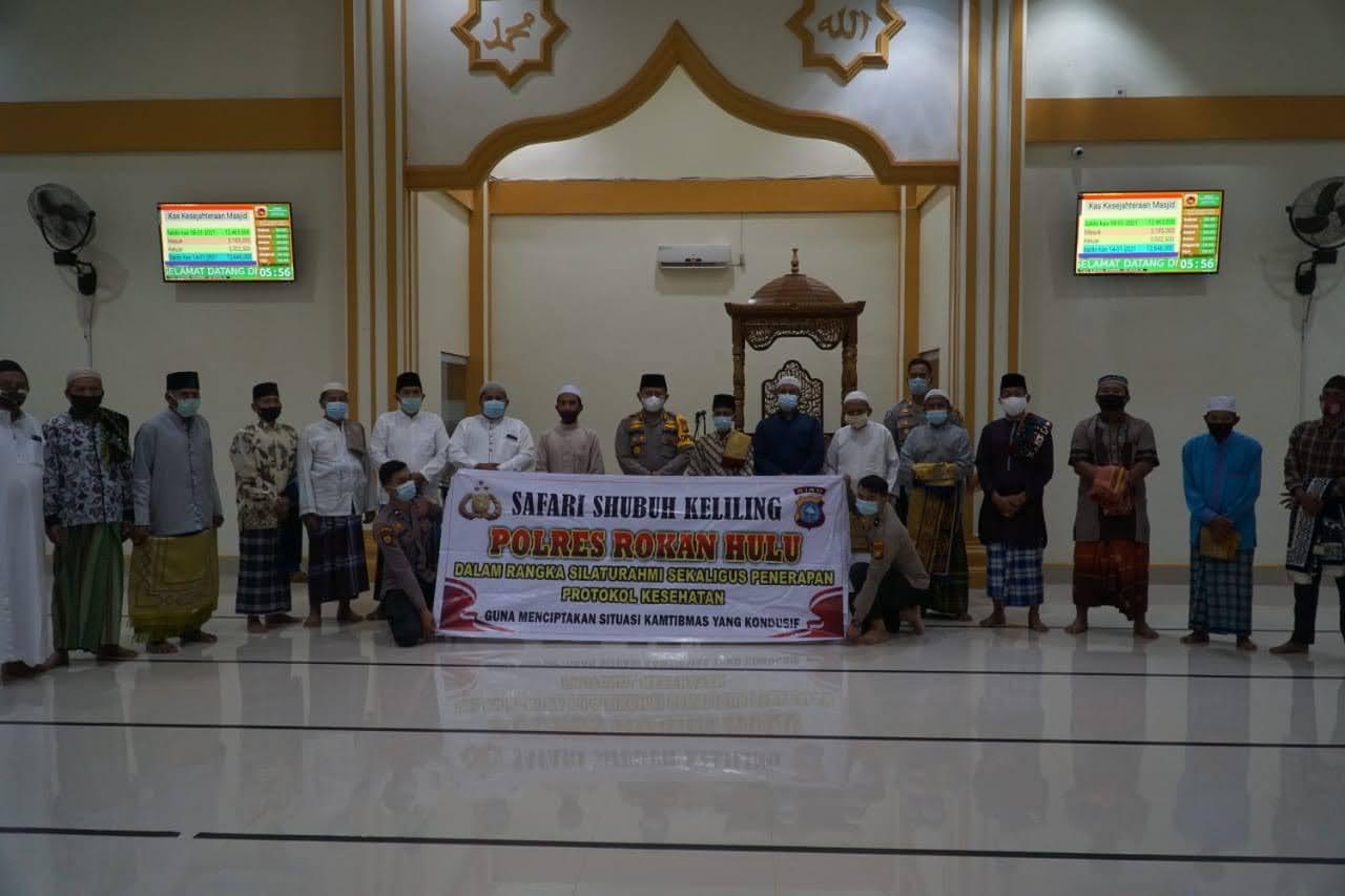 Tujuan Kapolres AKBP Taufiq Lukman Nurhidayat Intensifkan Program Shubuh Keliling