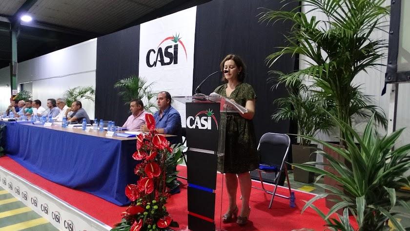 Una reciente asamblea de la cooperativa CASI.