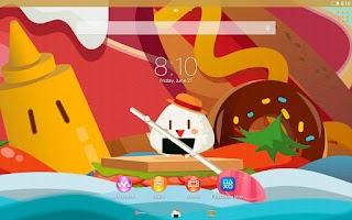 Screenshot of XPERIA™ Foody Theme