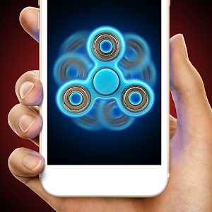 Laser fidget hand spinner for PC