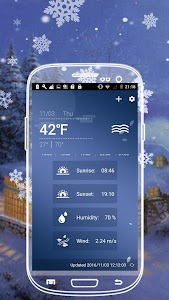 Weather Widget screenshot 2