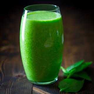 Vanilla Green Protein Smoothie.