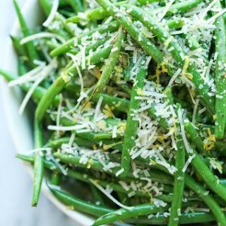 Lemon Parmesan Green Beans.
