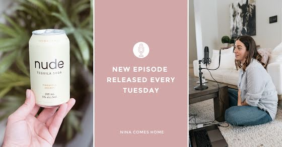 Nina Comes Home Podcast - Facebook Event Cover Template