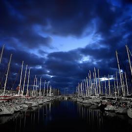 marina by Catalino Adolfo   Jr. - Transportation Boats ( boats, transportation )