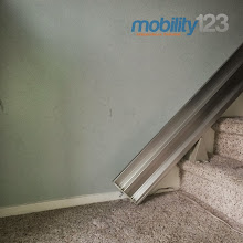 Photo: A customer of ours pointed out that a picture we recently took looks like it could be an album cover. We think so too!  #AlbumCover   #Cool   #Minimalist   #M123   #Stairlift