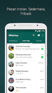 WhatsApp Messenger- gambar mini screenshot