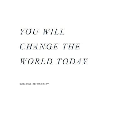 Change the World Today - Instagram Post Template