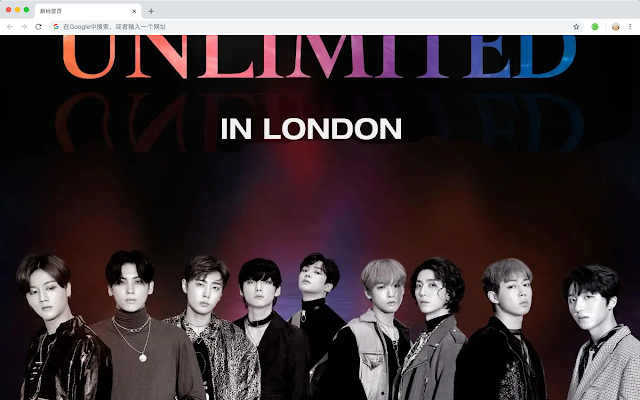 SF9 New Tab & Wallpapers Collection