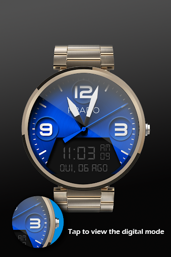 Steel Color Watch Face