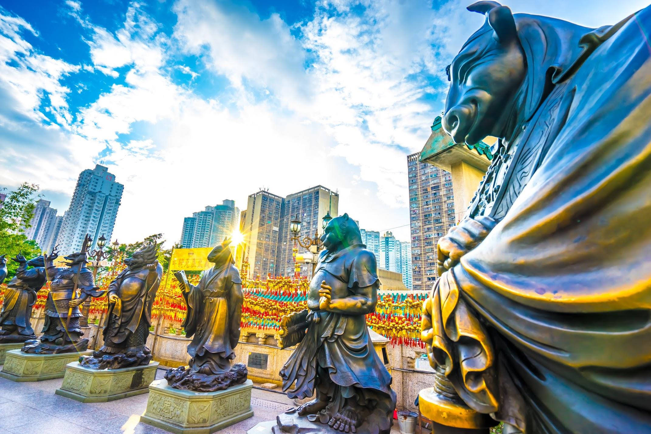 Hong Kong Wong Tai Sin Temple2