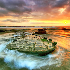 Turned Back by Agoes Antara - Landscapes Waterscapes