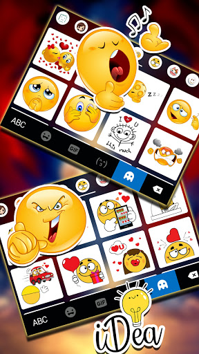 Wild Lion Keyboard Background screenshot 4