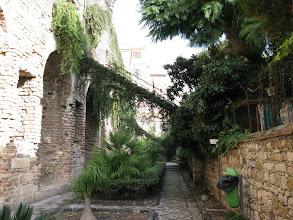 Photo: Ancient Roman gymnasium walls once part of Taormina forum