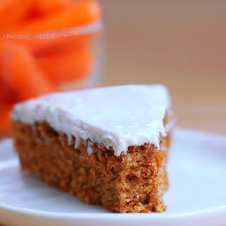 Healthy Carrot Cake.