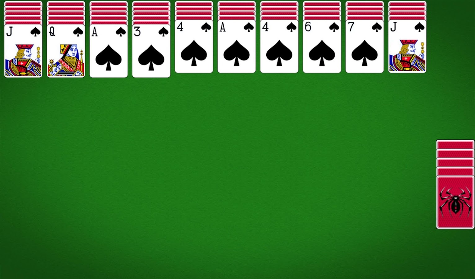 spiele spider solitaire download