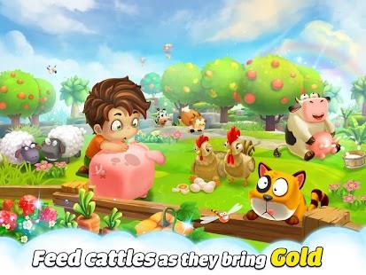 Cube Farm 3D: Skyland Craft- screenshot thumbnail