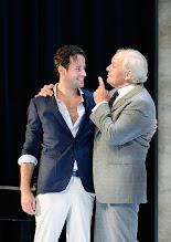 """Photo: WIEN/ Theater in der Josefstadt: """"VOR SONNENUNTERGANG"""" von Gerhard Hauptmann. Premiere 3.9.2015. Alexander Absenger, Michael König. Copyright: Barbara Zeininger"""