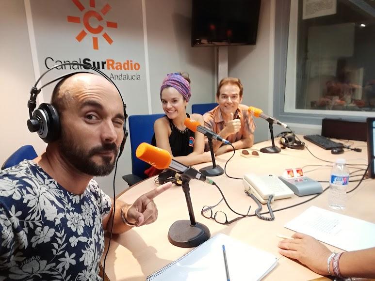 Sergio Morante en Canal Sur Radio.