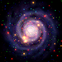 Galaxy Music Visualizer 3D icon