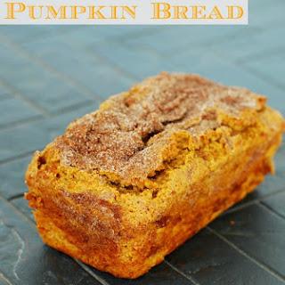 Pumpkin Cinnamon Swirl Bread.