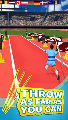 Summer Sports: Javelin - screenshot